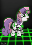 Sweetie Bot by GreenflyArt