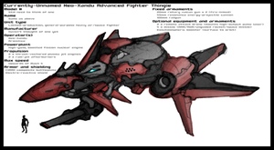 WIP: Neo-Dominion fighter plane thingie by Great-5