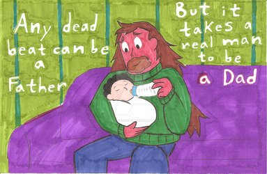 A Universal Fathers Day by Scared2dream