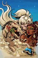 ElfQuest Marvel Cover Re-Color by Foxeye