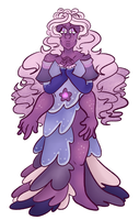 The unholiest of fusions (BD And Rose Quartz) by BewareTheMusicMan