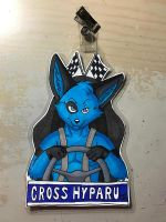 Commission: Cross Hyparu 2 by PudgeyRedFox