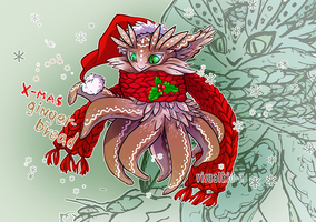 ADOPT AUCTION: Octodopt X-mas Gingerbread by visualkid-n