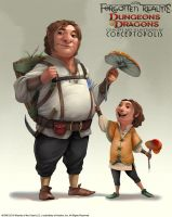 Strongheart Halfling (Male) by Conceptopolis
