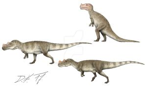 Now and then: Ceratosaurus by Pachyornis