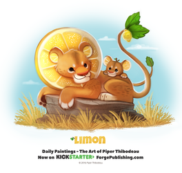 Day 1367. Limon by Cryptid-Creations