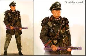 Occult German Officer by Monkey-Paw