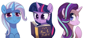 Trix Twi and Glim by MomoMistress