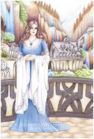 Arwen and Rivendell by Queen-Uriel