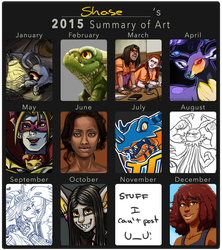 2015 Summary of Art by shases