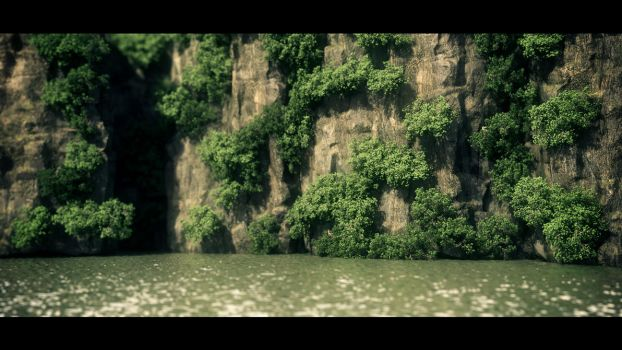 The Cliff by hoangphamvfx