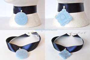 Water Tribe Betrothal Necklace by WindoftheStars