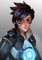 overwatch tracer by sagarconcept