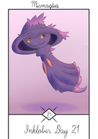 Inktober Day 21: Mismagius by Steve-does-art