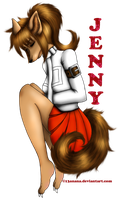 Jenny -Request- by 13anana