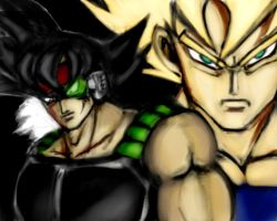 Bardock sees the future... by SirCrocodile