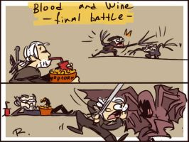 The Witcher 3, doodles 83 by Ayej