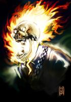 GhostRider Halloween 2017 by Fpeniche