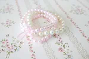 Breast Cancer Bracelet by YourSweetTreat