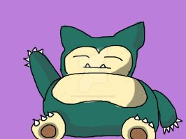 Snorlax 1 by the-shmegster