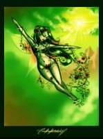 .The Faerie of Spring. by Xenonia