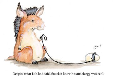The Attack Egg by ursulav