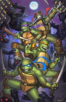 TMNT by jeffszhang