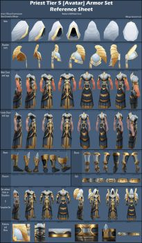 Priest Tier 5 [Avatar] Reference Sheet by AWorger
