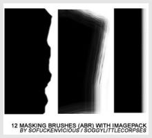 MASKING BRUSHES 1 by soggylittlecorpses
