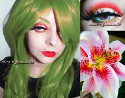 Beauty Lily Makeup Lime Crime by cherrybomb-81
