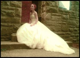 .:Waiting Bride:. by cosplay-muffins