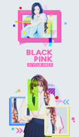 160815 // GRAPHIC JISOO LISA 'BP IN YOUR AREA' by Xiao-Xue