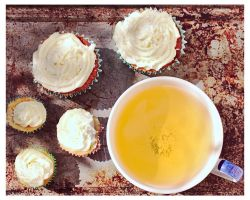 Cupcakes and Tea by akio-stock