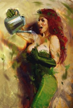 POISON IVY SKETCH by nachomolina