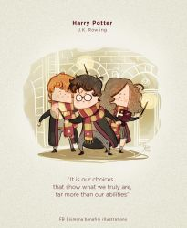 Books' quotes | Harry Potter by SimonaBonafiniDA