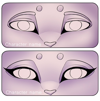 YCH Eyes banner/tag | Closed by Mythic-Flame
