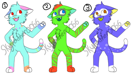 Adopts batch #2 (3/3 open) by skyfeather0066