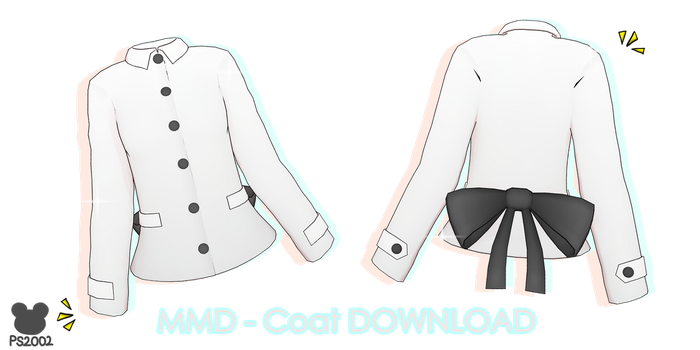 .: MMD - Winter Coat Download :. by PandaSwagg2002