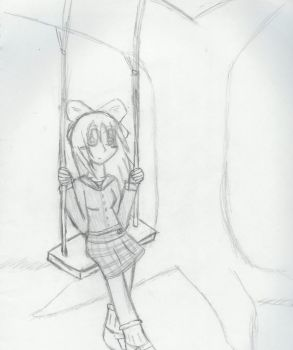 Breezy Swing Sketch by MilaPrower