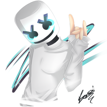 Marshmello by BoneziProxy