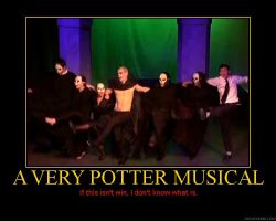 A Very Potter Musical Poster by holidaze