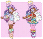 [OC]: Trixie Outfits by SimplyDefault