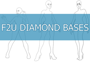 ( F2U BASE ) Diamonds by ZombiAdopts