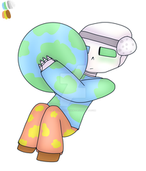 Earth!Sans by EvoliGirl11Drawing