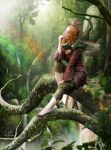 An Elf and Her Pet by Cold-Tommy-Gin