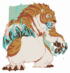 AT with BearlyFeline by LiLaiRa