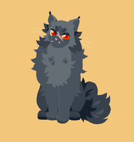 yellowfang by badgrl675