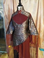 Warrioress Tunic Side View by celticbard76