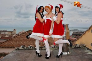 One Piece girls,it's christmas by Mellorineeee