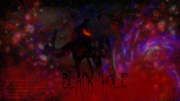 Black Hole revisited by talye05